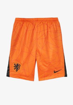 NIEDERLANDE KNVB Y NK BRT STAD HM - Sportovní kraťasy - safety orange/black