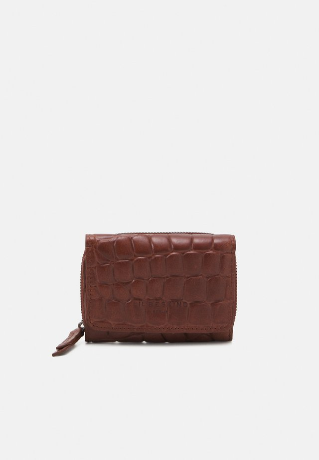 SEASONAL CROCO PABLITA WALLET MEDIUM - Portfel - new bourbon