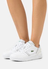 Lacoste - T-CLIP - Baskets basses - white/light grey - 0