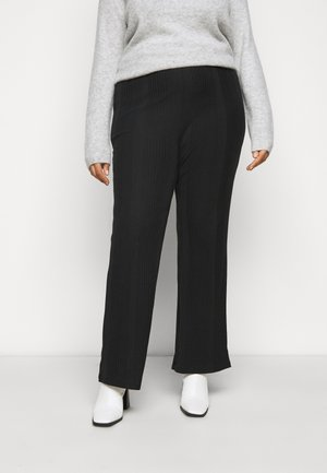 PCMANVI WIDE PANT - Tracksuit bottoms - black