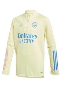 adidas Performance - ARSENAL TRAINING TOP - Club wear - yellow - 2