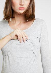 Zalando Essentials Maternity - Longsleeve - mottled light grey - 6