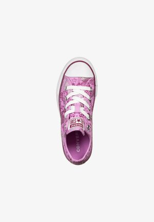 CHUCK TAYLOR ALL STAR OX SNEAKER KINDER - Trainers - peony pink/rose maroon