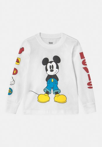 MICKEY MOUSE UNISEX - Langærmede T-shirts - white