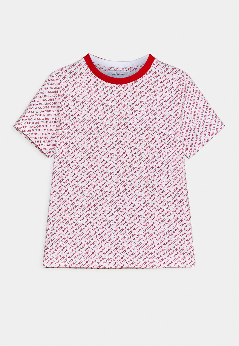 The Marc Jacobs - Print T-shirt - white/red