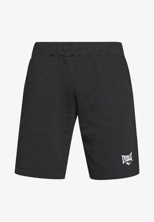 LOUIS - Sportovní kraťasy - black