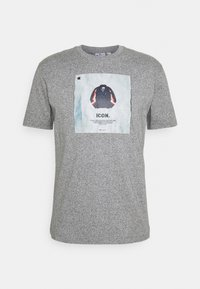 Champion Rochester - GRAPHIC SHOP CREWNECK - Print T-shirt - mottled grey - 0