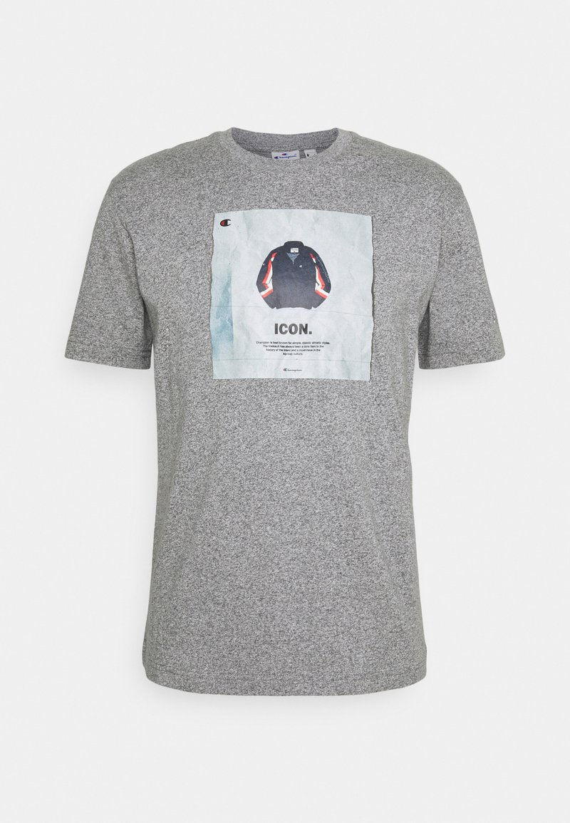 Champion Rochester - GRAPHIC SHOP CREWNECK - Print T-shirt - mottled grey