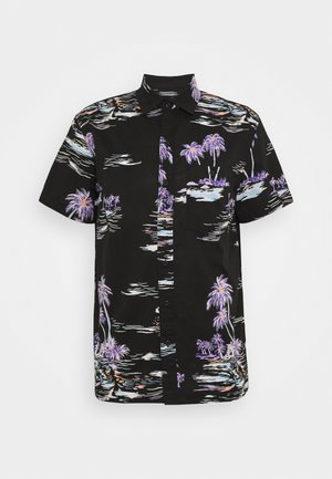 PALM BEACH - Chemise - black/mulit-coloured