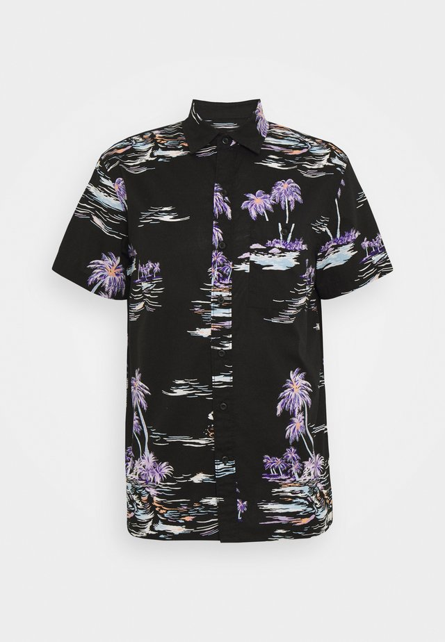 PALM BEACH - Shirt - black/mulit-coloured