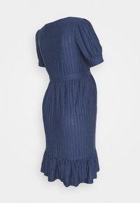 MAMALICIOUS - MLKADI SHORT DRESS - Sukienka z dżerseju - crown blue - 1