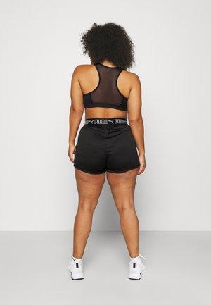 MID IMPACT BRA PLUS - Medium support sports bra - black