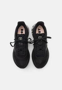 adidas Performance - SUPERNOVA BOOST PRIMEGREEN RUNNING SHOES - Neutral running shoes - core black/pink tint - 3