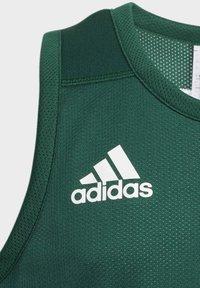 adidas Performance - SPEED REVERSIBLE JERSEY - Sportshirt - green - 3