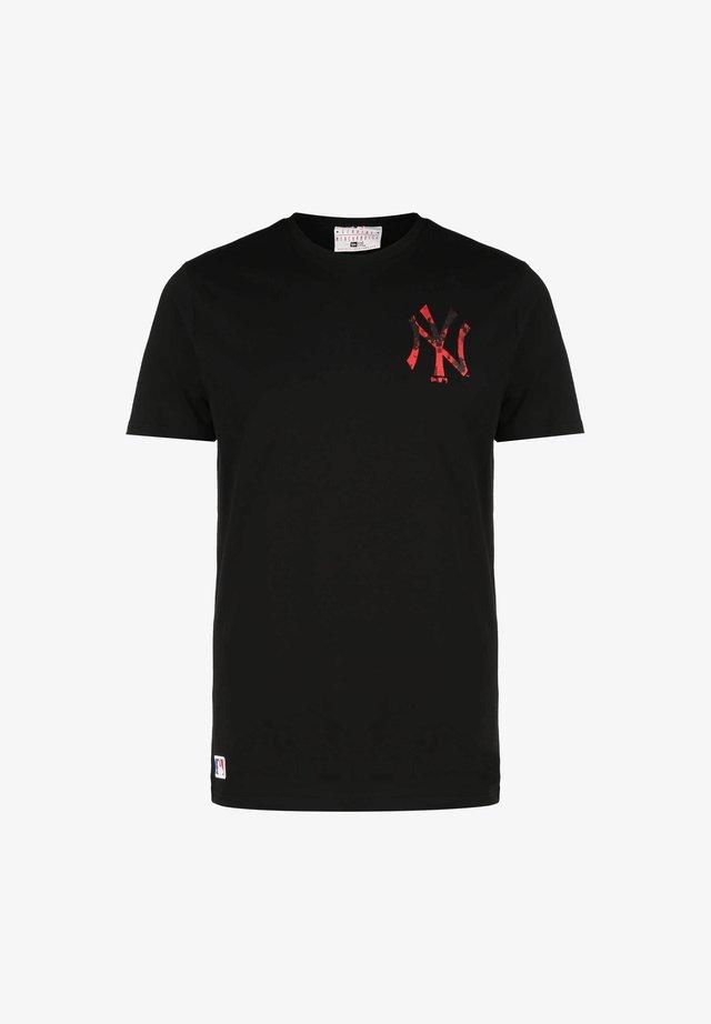 MLB NEW YORK YANKEES DIGI  - T-shirt imprimé -  black