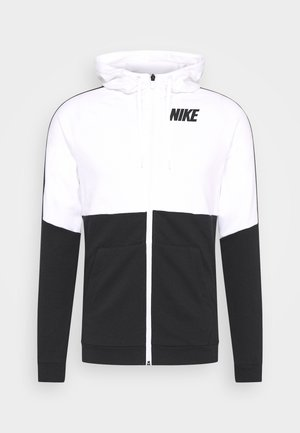 DRY  - Sweatjacke - white/black