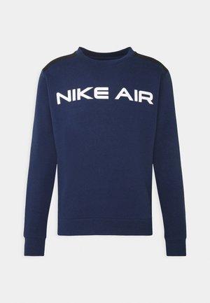 AIR CREW - Sweatshirt - midnight navy/black/white