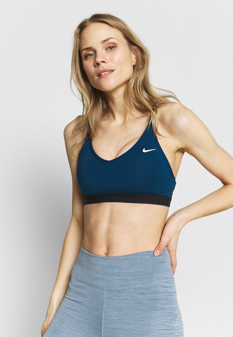 Nike Performance - INDY BRA - Sports bra - valerian blue