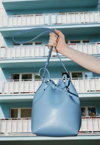 Mansur Gavriel - MINI BUCKET - Handbag - pioggia - 4