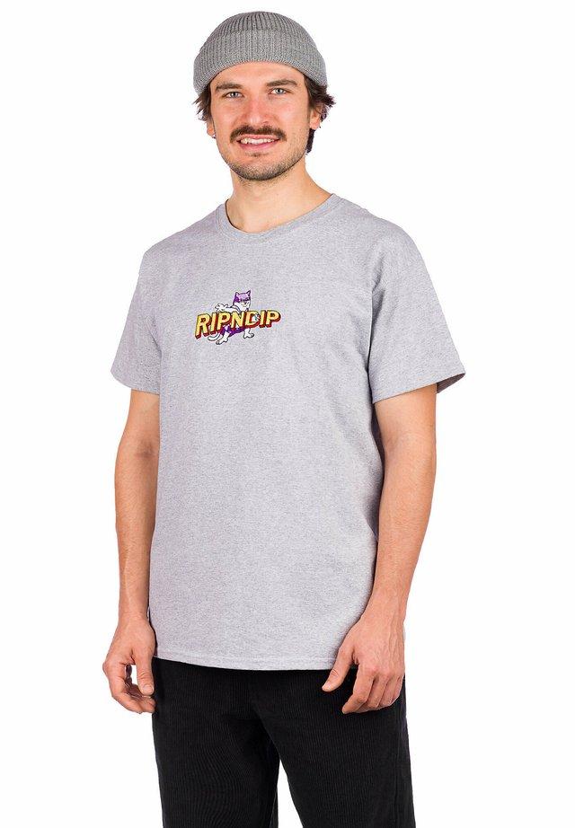 CAPTAIN NERMAL  - Print T-shirt - grey