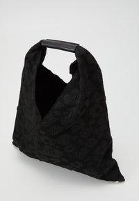 MM6 Maison Margiela - LEOPARD GIAPPONESE SMALL - Tote bag - black - 2