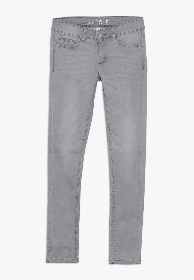 PANTS - Jean slim - mid grey denim