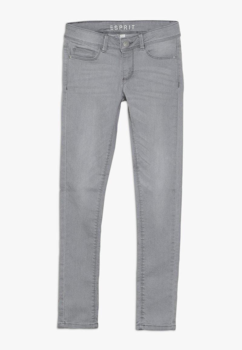 Esprit - PANTS - Slim fit jeans - mid grey denim