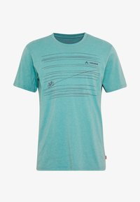 Vaude - ME CYCLIST  - T-Shirt print - lake - 5