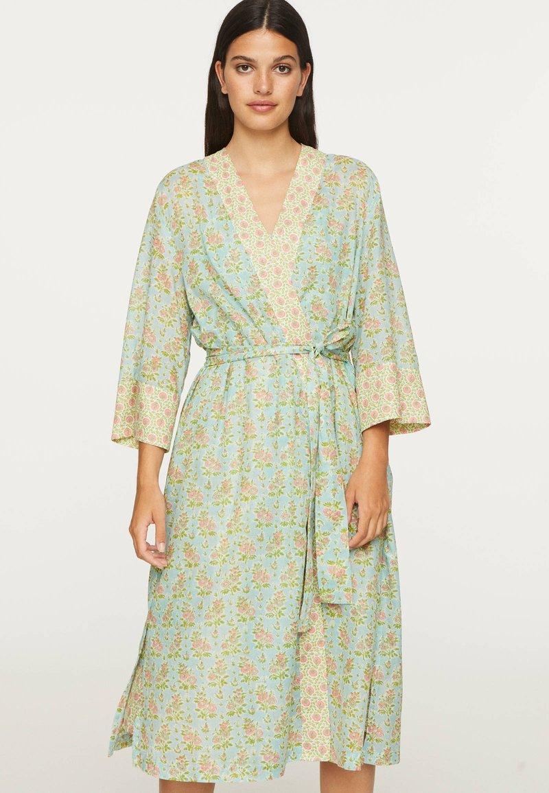 OYSHO - Summer jacket - turquoise