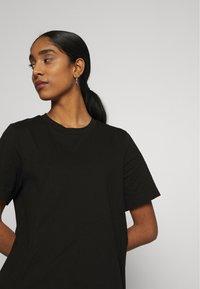 Gina Tricot - MANDY LONG TEE - Basic T-shirt - black - 3