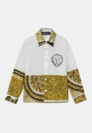 UNITED HERITAGE - Chemise - white/black/gold
