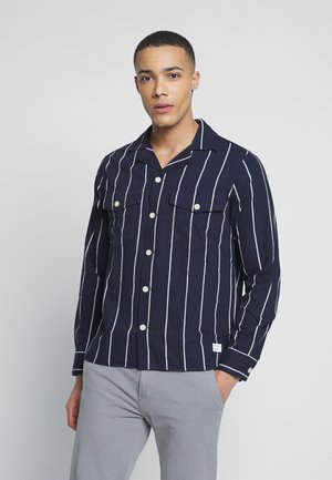 CLIPPER BIG SHIRT - Košile - navy stripe