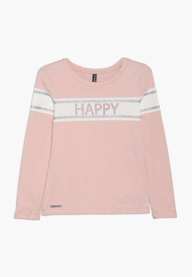GIRLS LONGSLEEVE HAPPY - T-shirt à manches longues - winterrose reactive