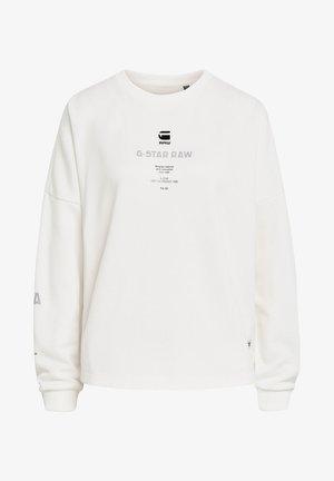 MULTI GR RELAXED - Sweatshirt - milk