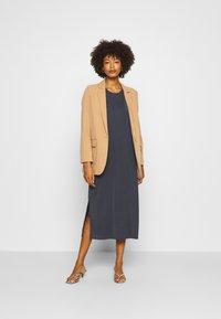 Marc O'Polo DENIM - DRESS SHORT SLEEVE - Jersey dress - scandinavian blue - 1