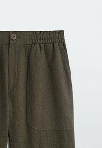 Massimo Dutti - Pantalon classique - khaki - 2