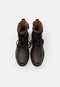 Yellow Cab - UTAH - Lace-up ankle boots - brown - 3