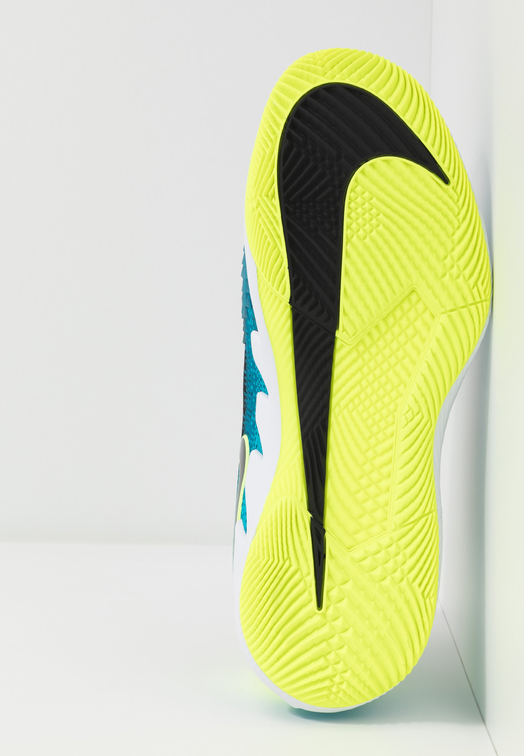 Nike Performance Air Zoom Vapor X - Tennissko Til Multicourt Neo Turquoise/black/green/hot Lime