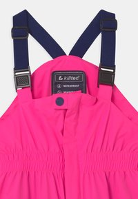 Killtec - JAELY MINI UNISEX - Rain trousers - neon pink - 3