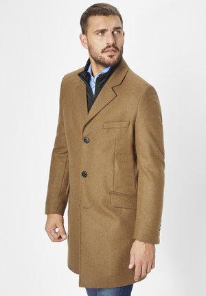 LEONARDO - Short coat - camel (dk. beige)