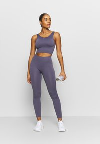 ONLY Play - ONPLOUNGE  - Collant - graystone - 1