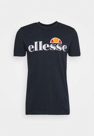 HAREBA - Camiseta estampada - navy