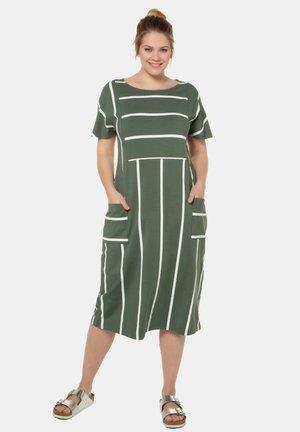 Jersey dress - kaktus