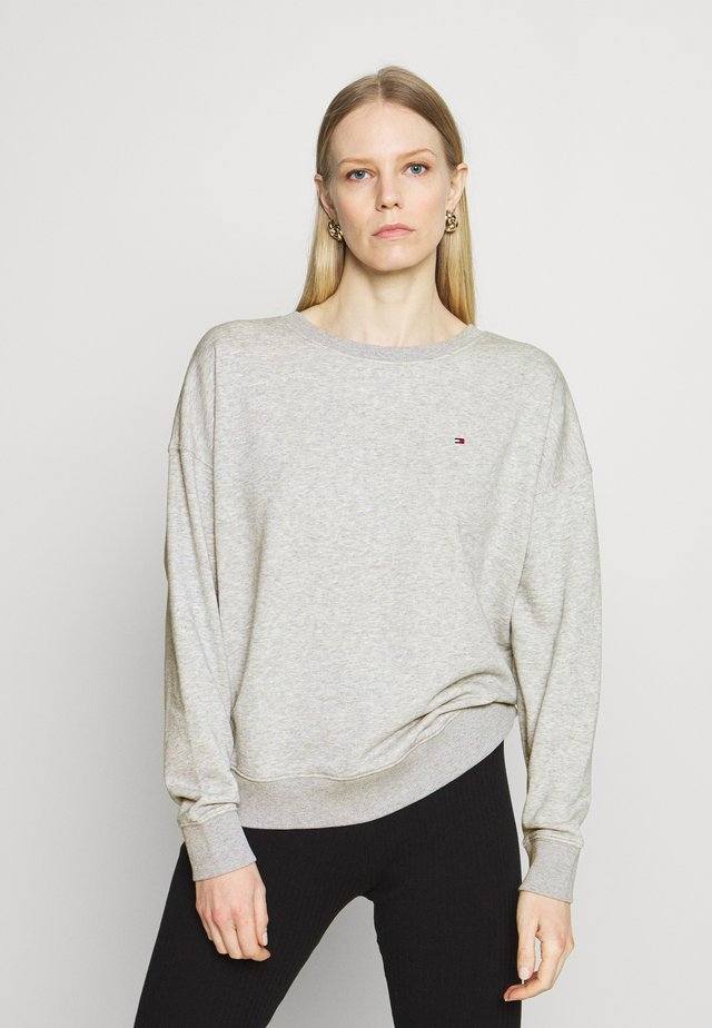 OVERSIZED OPEN - Sweatshirt - light grey heather
