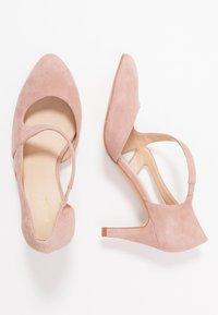 Anna Field - LEATHER CLASSIC HEELS - Classic heels - rose - 3