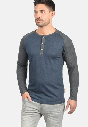 WINSTON - Long sleeved top - navy mix
