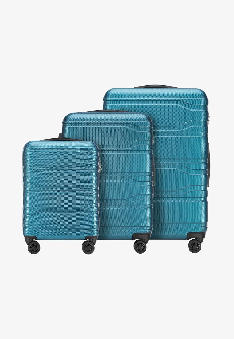 Wittchen - TRAIL STYLE - Wheeled suitcase - blue