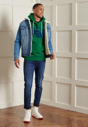 HERREN VL  - Hoodie - bowling green marl