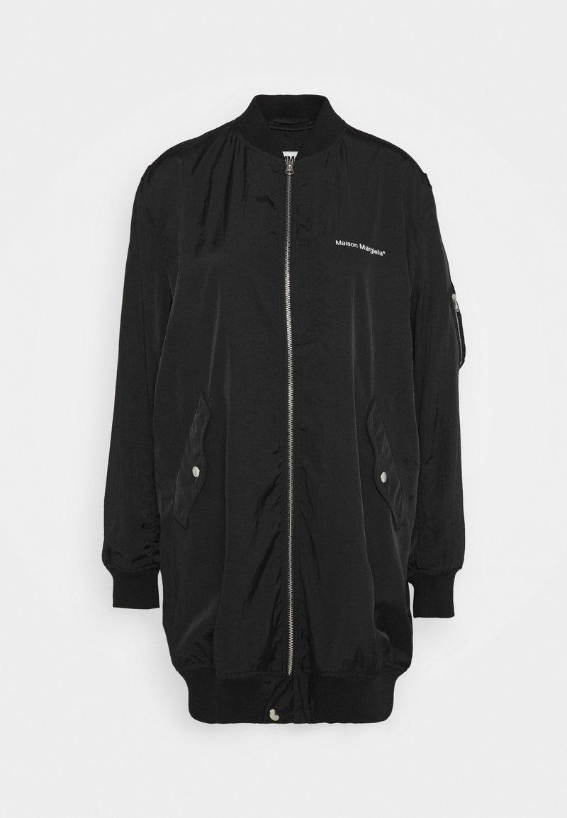 MM6 Maison Margiela - Krátký kabát - black