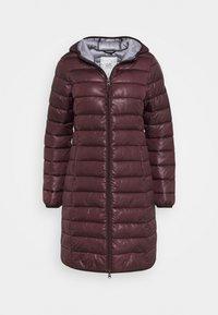 OUTDOOR - Winter coat - dark ruby